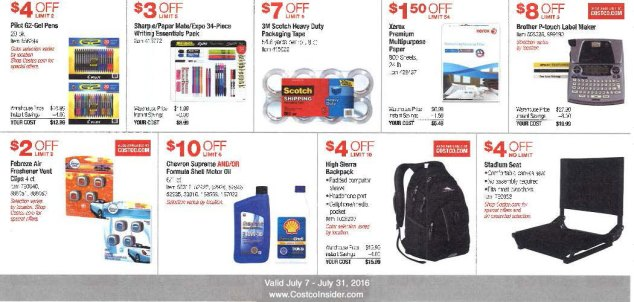 July 2016 Costco Coupon Book Page 5