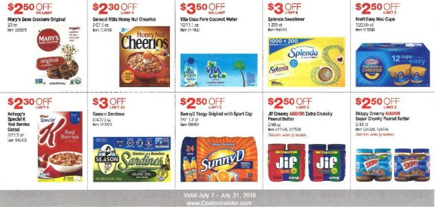 July 2016 Costco Coupon Book Page 7