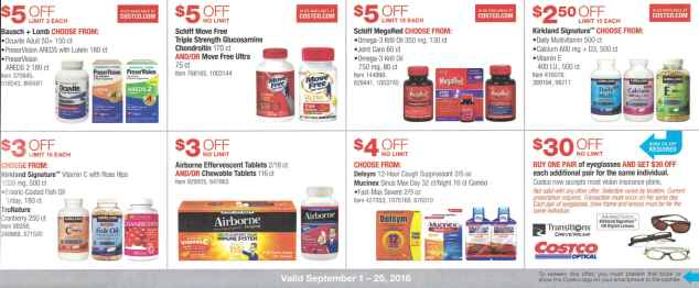 September 2016 Costco Coupon Book Page 15