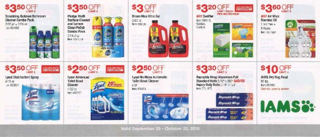 October 2016 Costco Coupon Book Page 11