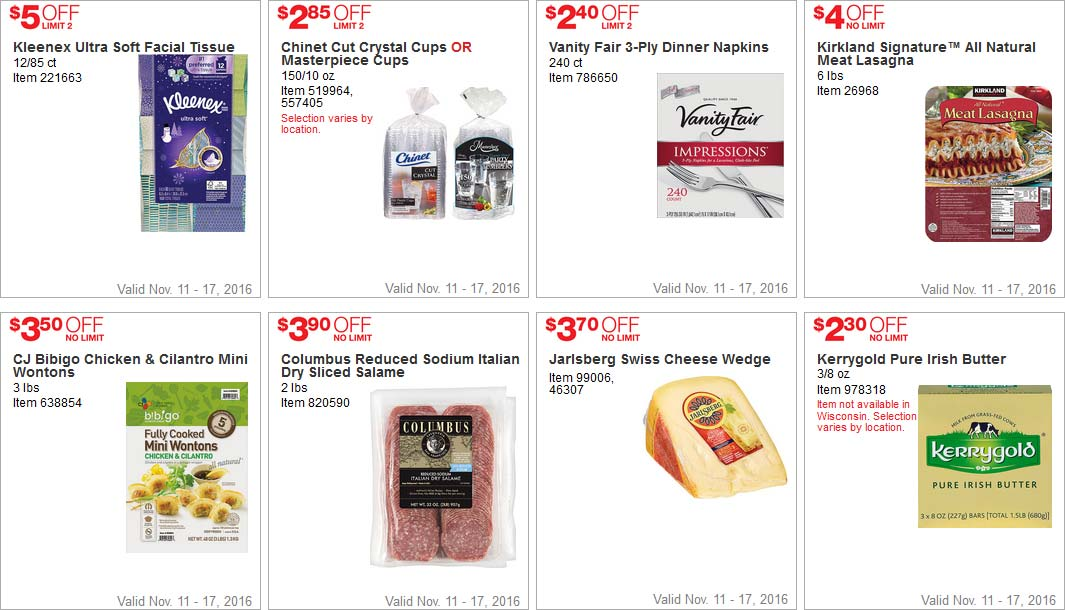 Lovely Costco Black Friday Week Coupons Page