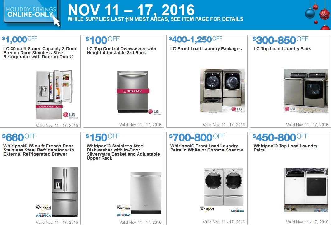 Marvelous Costco Black Friday Week Coupons Page