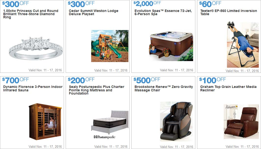 Stunning Costco Black Friday Week Coupons Page