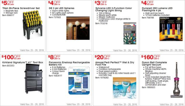 Costco Black Friday 2016 Weekend Coupons Page 3