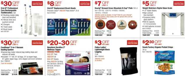 January 2017 Costco Coupon Book Page 4
