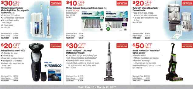 February 2017 Costco Coupon Book Page 1