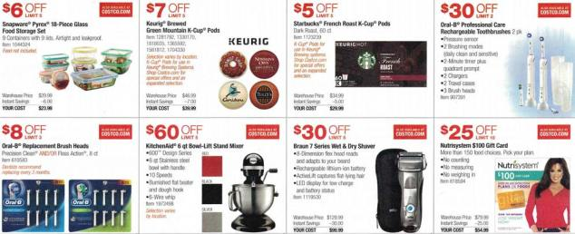Costco March and April 2017 Coupon Book Page 14