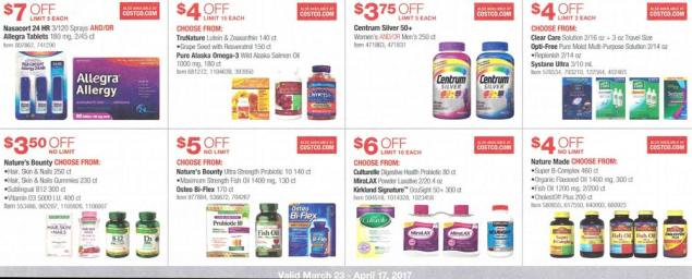 Costco March and April 2017 Coupon Book Page 15