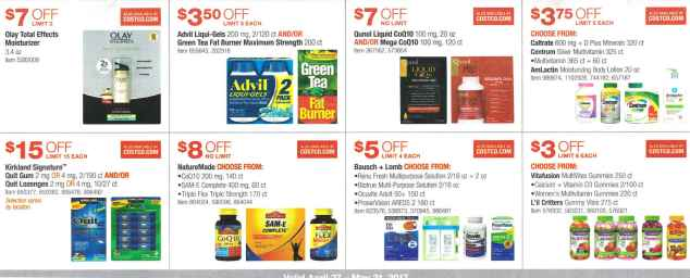 Costco May 2017 Coupon Book Page 15