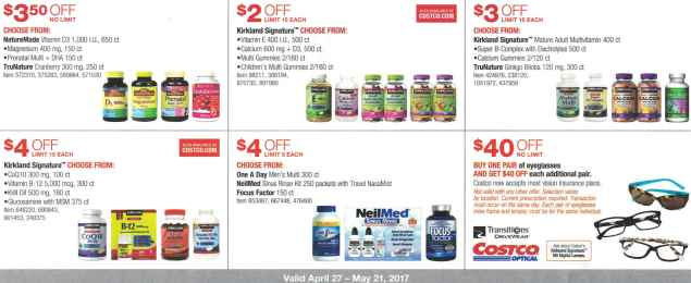 Costco May 2017 Coupon Book Page 16