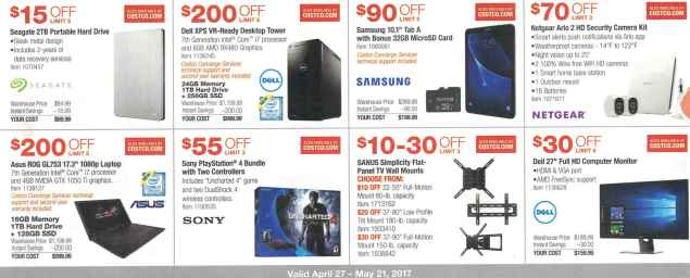Costco May 2017 Coupon Book Page 7