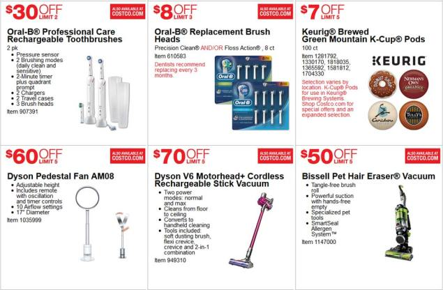 June 2017 Costco Coupon Book Page 9