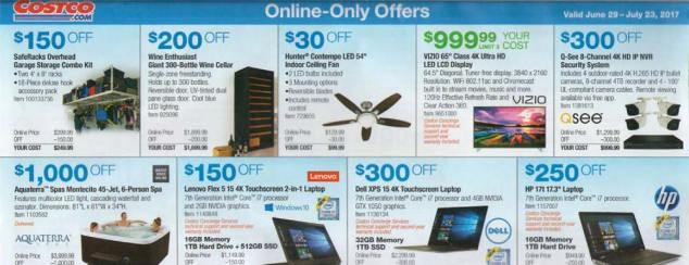 Costco July 2017 Coupon Book Page 16