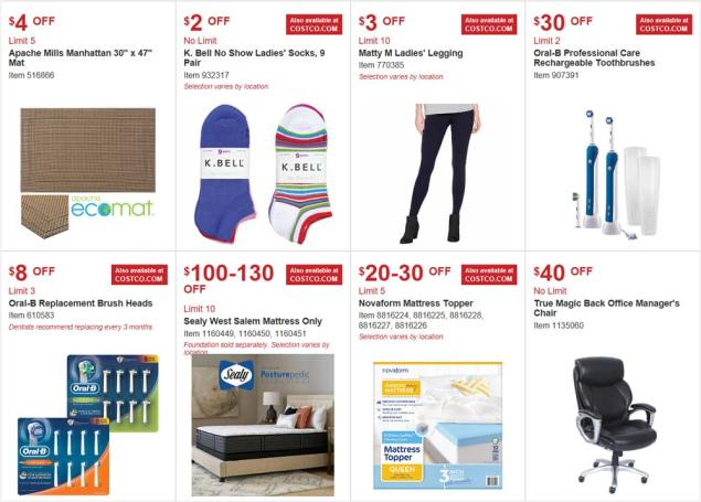 Costco August 2017 Coupon Book Page 3