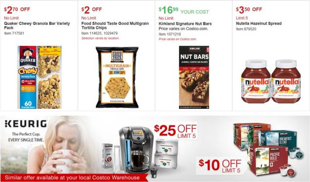 Costco August 2017 Coupon Book Page 7