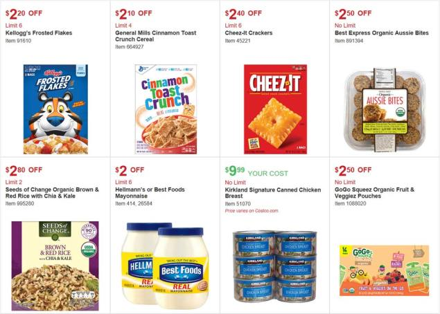 Costco August 2017 Coupon Book Page 8