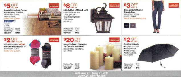 Costco September 2017 Coupon Book Page 5