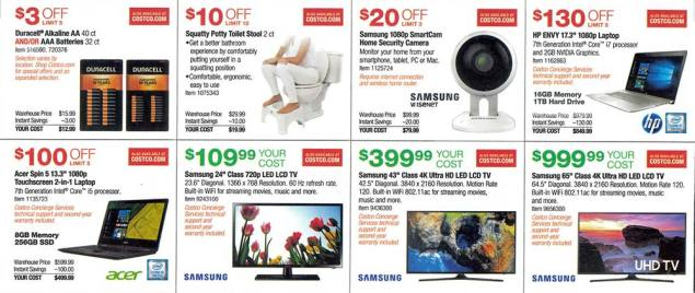 Costco September 2017 Coupon Book Page 8