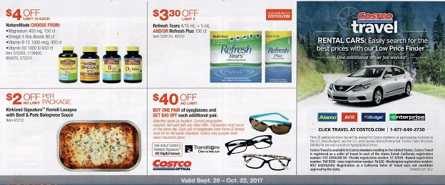 Costco October 2017 Coupon Book Page 17