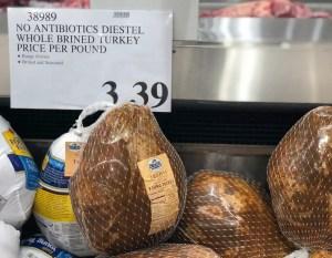 Costco Diestel No Antibiotics Young Turkey