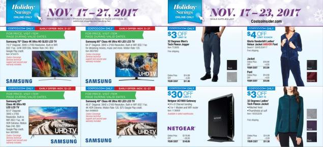 Costco Black Friday ad scan Week 2 Page 11
