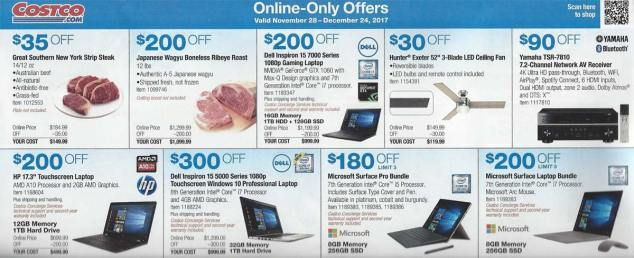 Costco December 2017 Coupon Book Page 14