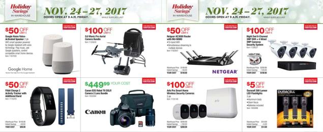 Costco Black Friday 2017 Ad Scan Page 2