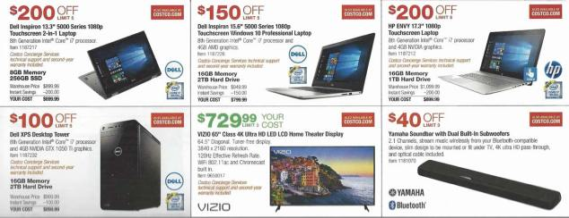 Costco December 2017 Coupon Book Page 8