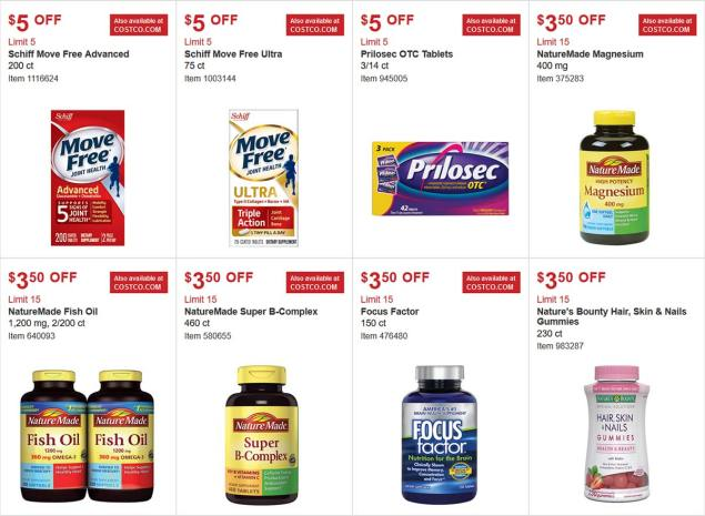 Costco Coupon March 2018 Page 16