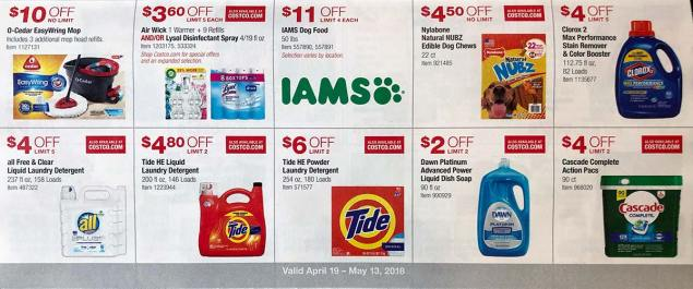 April 2018 Costco Coupon Book Page 16