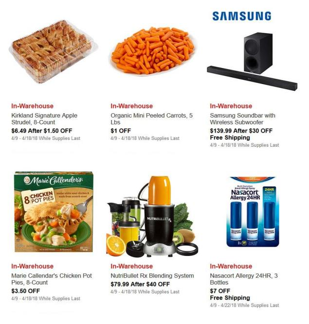 April 2018 Costco Hot Buys Page 2