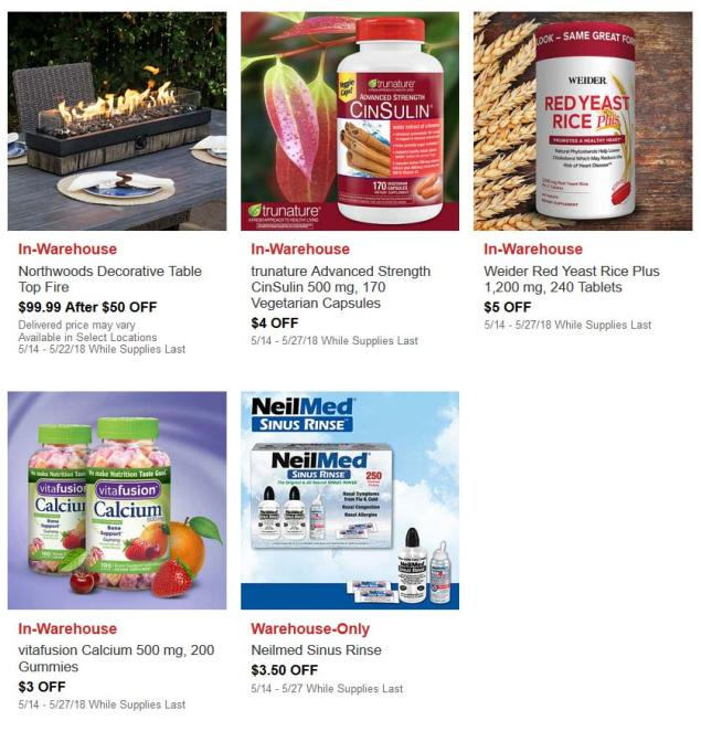 May Hot Buys Coupons Page 4