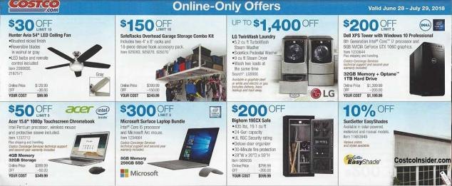 Costco Coupons July 2018 Page 20