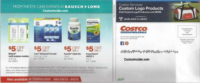 Costco August 2018 Coupon Book Page 26