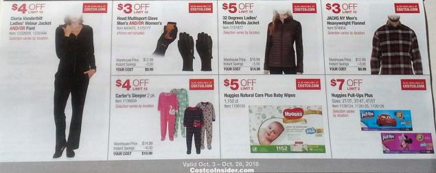 Costco October 2018 Coupon Book Page 10