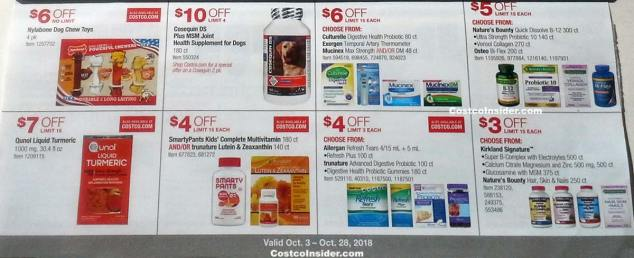 Costco October 2018 Coupon Book Page 18