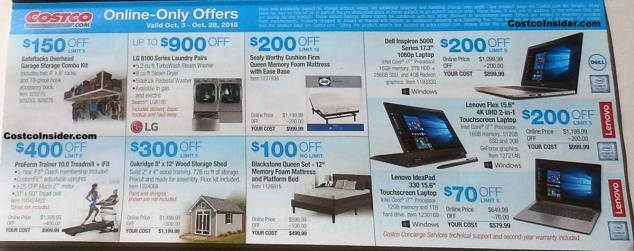 Costco October 2018 Coupon Book Page 6
