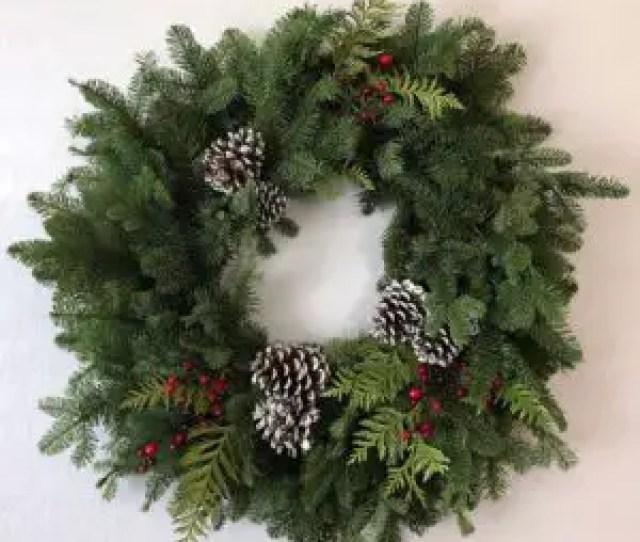 Mixed Christmas Wreath