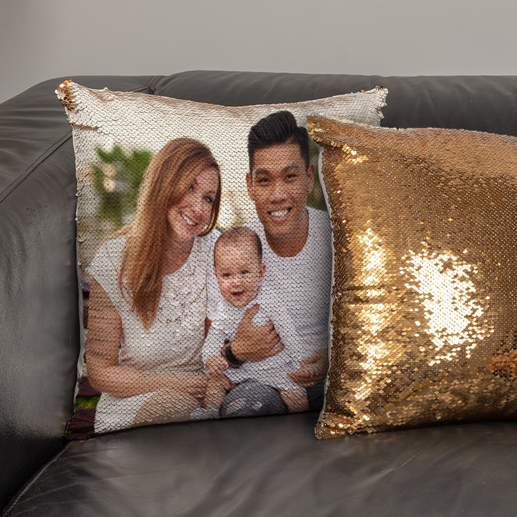 sequin pillow covers 2 pack
