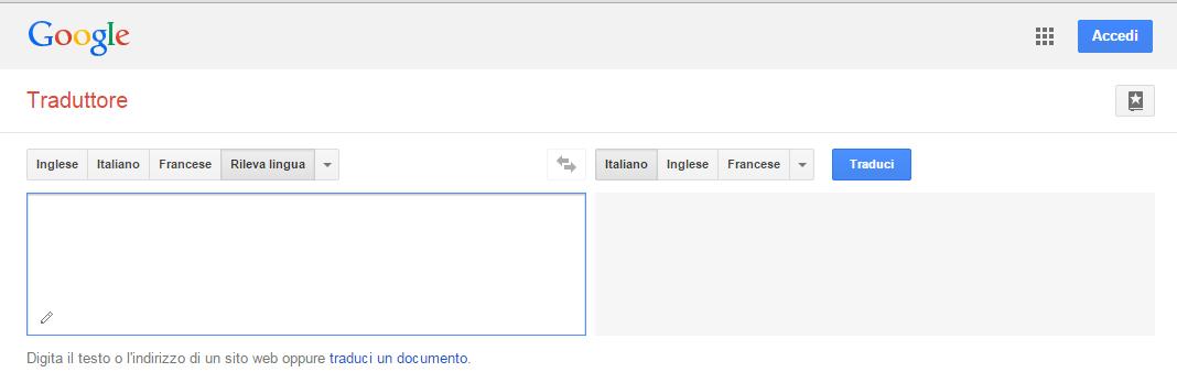 Traduttore Coste del Sud traduttore Google Gratis