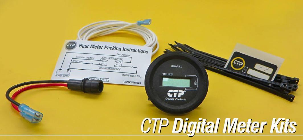 Aftermarket Hour Meter : Hour meter kit costex tractor parts aftermarket