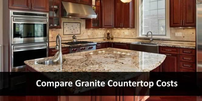 Compare Granite Countertop Costs 2020