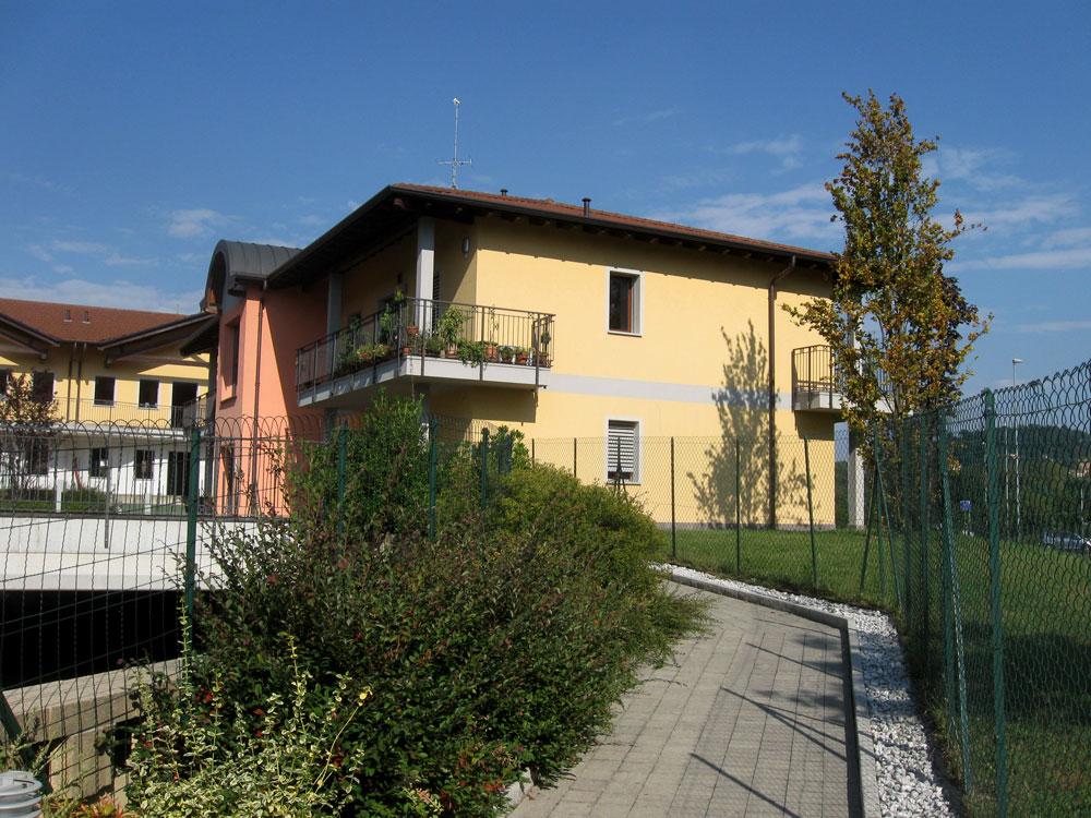 Edifici residenziali a Daverio  Progetto