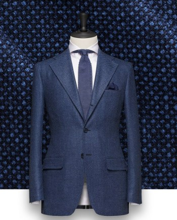 Costume Bleu Caviar dandy paris