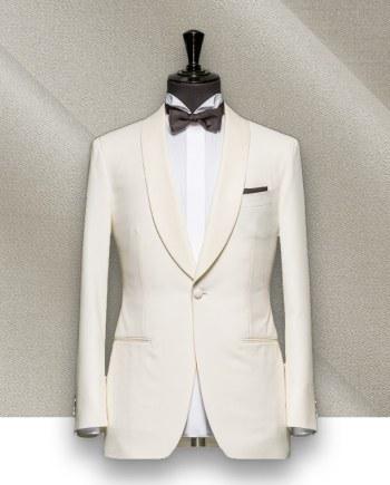 Smoking Blanc sur mesure paris, costume privé
