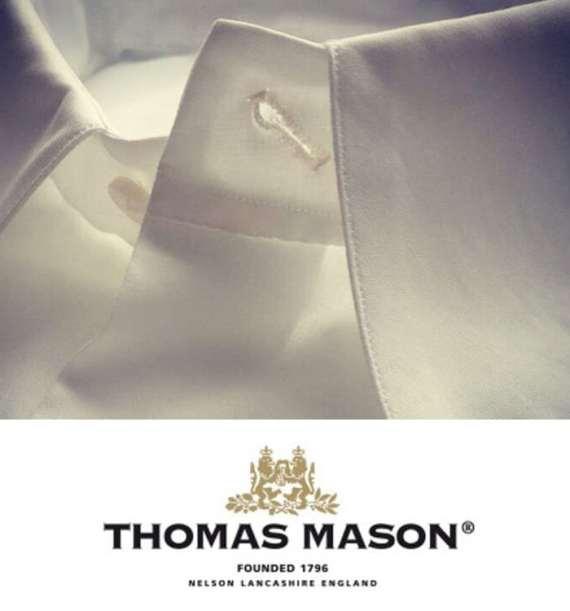 chemise sur mesure thomas mason