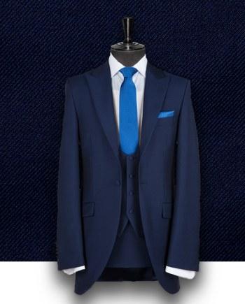 costume bleu cérémonie costume sur mesure Paris