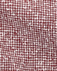Blazer rouge tweed été CP tissu