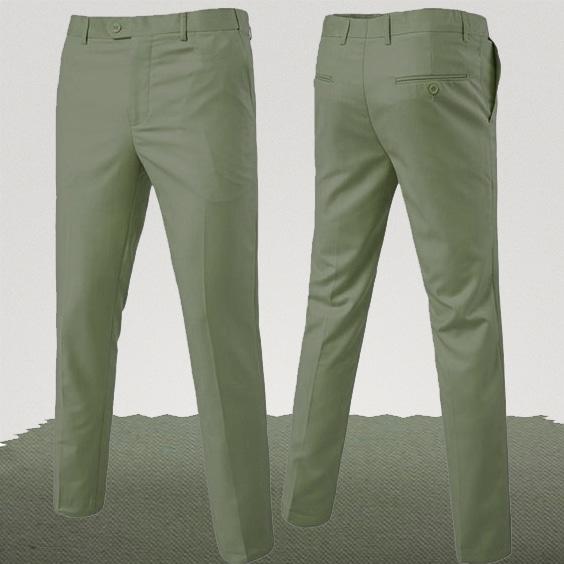 pantalon homme couleur vert tilleul homme