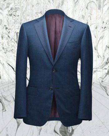 Costume bleu moyen Australis sur mesure tailleur paris